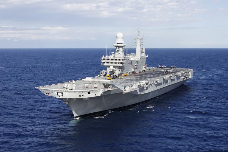 S stefano base per portaerei guardiavecchia - Cavour portaerei ...