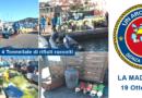 """Grande operazione ecologica di """"Un Arcipelago senza Plastica"""". 4 ton di rifiuti raccolti in un solo giorno"""
