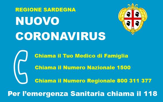 Ordinanze Regione Sardegna